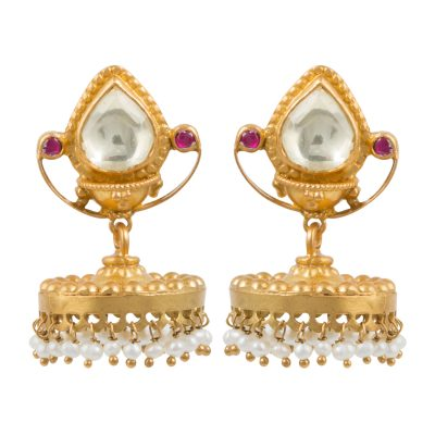 Heritage Pearl Bell Earrings