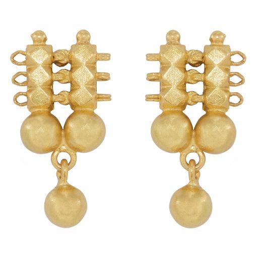 Simple Heritage Gold earrings