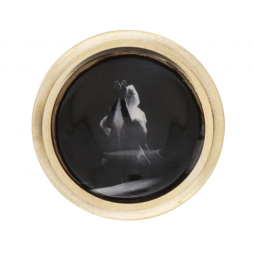 Heritage Woman in Prayer (in Dance form) Adjustable Ring