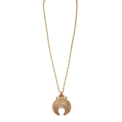 Good Luck Heritage Horse Shoe Long Necklace