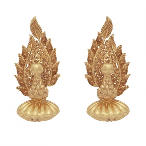 Heritage Stand Proud Peacock Earrings-0